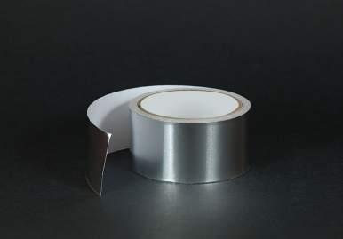 Алюминиевый скотч для греющего кабеля